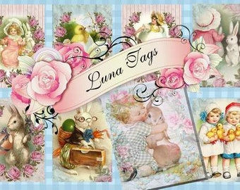 INSTANT DOWNLOAD Shabby Chic EASTER  No:27  Personal Use Only