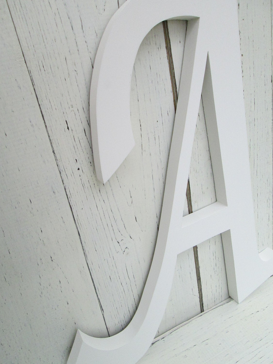 decorative wall alphabet letters
