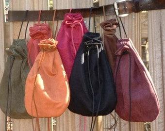 F012   Men's Medieval Renaissance X Large Drawstring Bag Pouch