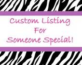 Custom Listing for obrien41010