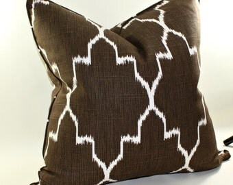 Monaco Tribal Ikat Pillow Cover