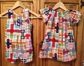 Girls peasant dress and jonjon by gigibabies