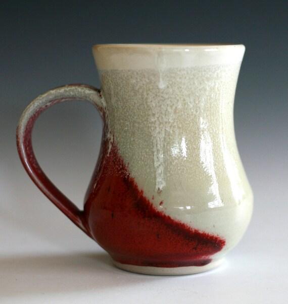 Large Coffee Mug 16 oz handmade ceramic cup ceramic