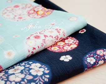 Cotton Fabric Cloth -DIY Cloth Art Manual Cloth-Cherry Blossom 43x19Inches