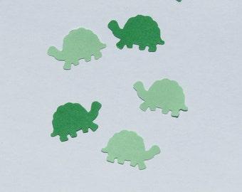 Turtle Tortoise Confetti Green Confetti 600 Pieces