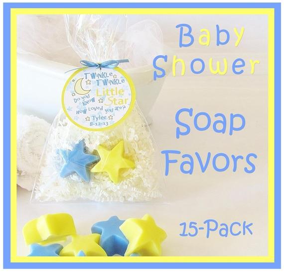 15 Twinkle Little Star Boy Baby Shower Soap Favor By