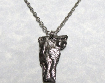 Vermont State Geological Design Necklace