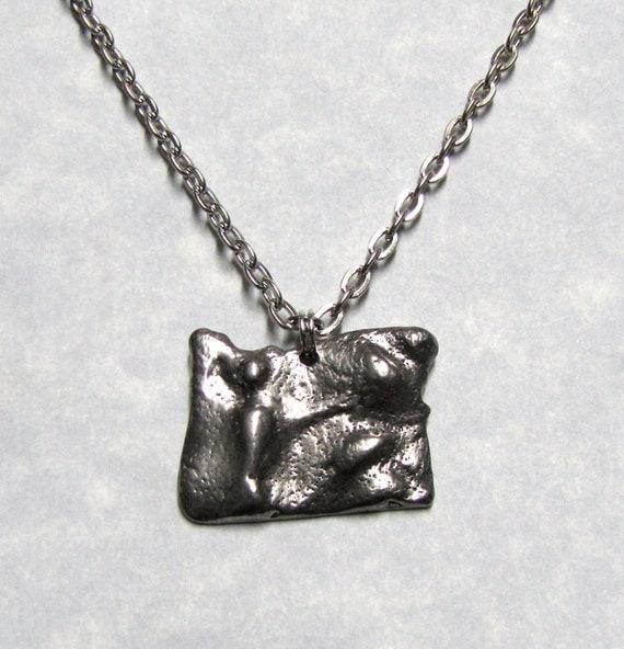 Oregon State Land Scape Necklace