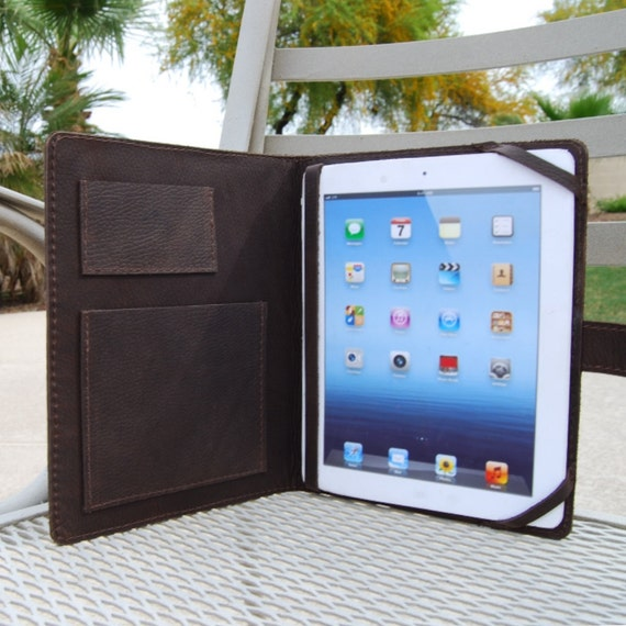 Reserved Listing for Chris iPad 2/3 Case Distressed Cowhide Leather Perfect for Him