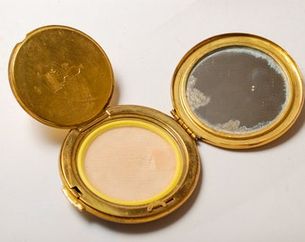 Vintage powder case, holder,