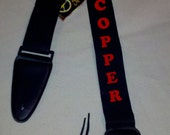 Monogrammed - Personalized Nylon Guitar Strap
