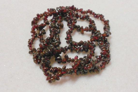 Garnet Gemstone Beads Berry Seed Garnet Beads