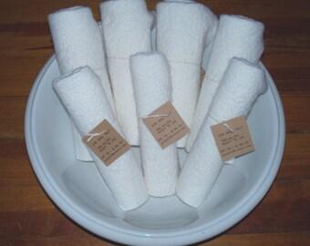 Fat 1/4 Wool Felt White Shades