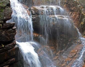 Avalanche Falls, Flume Gorge, White Mountains, New Hampshire