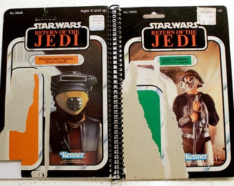 Lando Skiff Guard and Boussh Vintage Star Wars Return of the Jedi Notebook/Journal