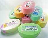 Soap Bar Set, Bulk Soap, Soap Lot, Scented Soap, Oval Round or Rectangle Soap, 5 oz Bars, Wholesale Soap, You pick the scents shape & qty