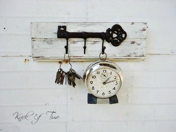 Skeleton Key Coat Hook Wall Hooks Created From Antique