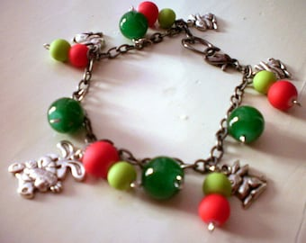 Bunny  charm anklet / bracelet (free combined shipping)