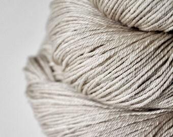 Dead sand flea - Merino/Silk Fingering Yarn Superwash
