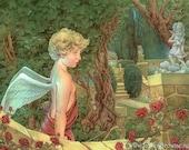 Cupid's Garden Greeting Card