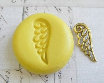 ANGEL WING Silhouette - Flexible Silicone Mold - Push Mold, Jewelry Mold, Polymer Clay Mold, Resin Mold, Craft Mold, Food Mold, PMC Mold