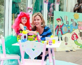 Mermaid Tutu by Atutudes - As seen in OK Magazine and designed for Hollywood Hot Moms For Trista Sutter's daughter Blakesley