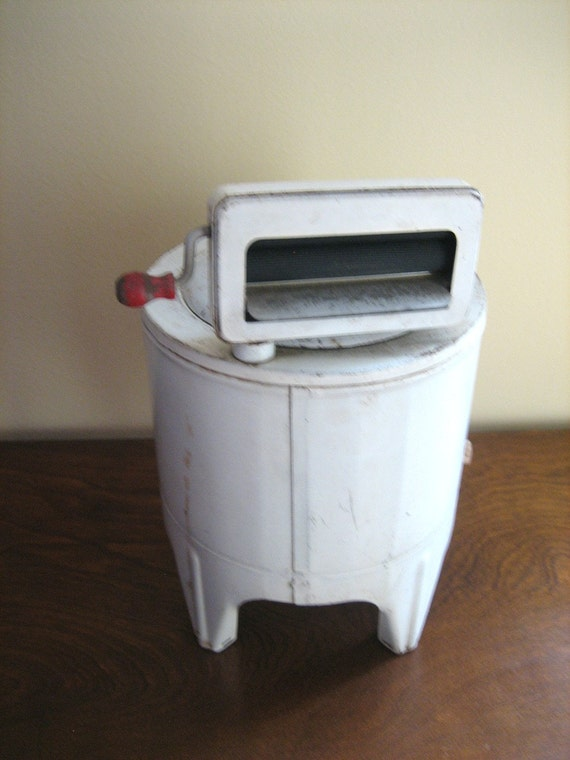 Antique Vintage Toy Wringer Washing Machine Pet Mfg Inc