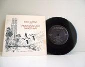 Bird Songs Mountain Lake Sanctuary, Lake Wales, Florida Vintage Vinyl Record 1970 33 1/3 RPM
