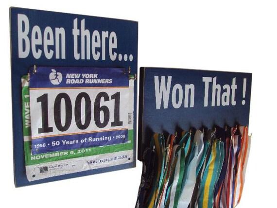Race Medal Holder Medals Holder And Race Bib