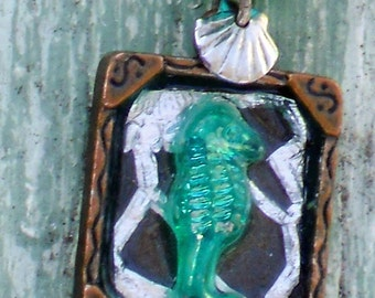 By The Sea Seahorse Necklace