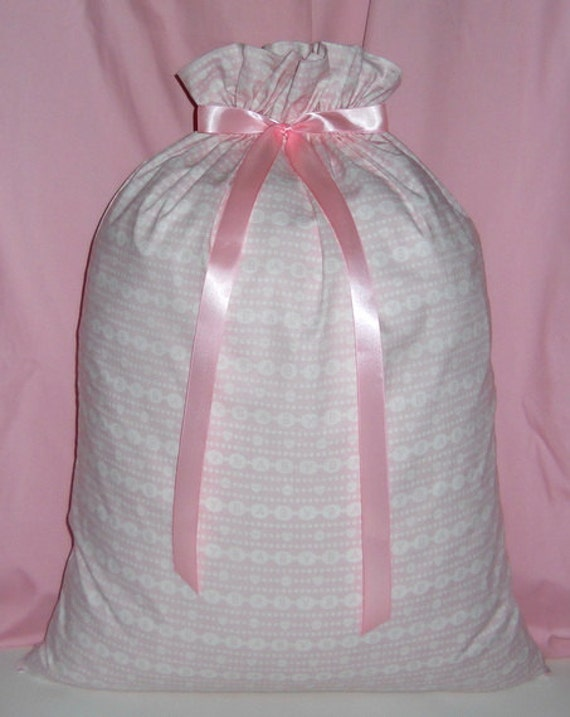 Baby On Pink Extra Large Fabric Gift Bag Children Girl