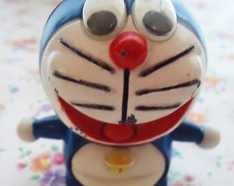 The Authentic Tin Doraemon Figure.80s.Sweet Magic