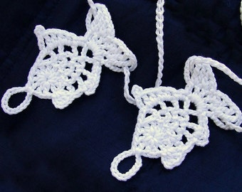 Baby Fish Barefoot sandals, foot decoration, leg accessories, crochet WHITE  baby shoes