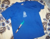 Blue Dalek Shirt