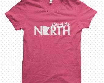 Minnesota Star:  made-to-order tshirt