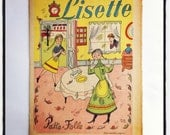 Lisette  french vintage  book