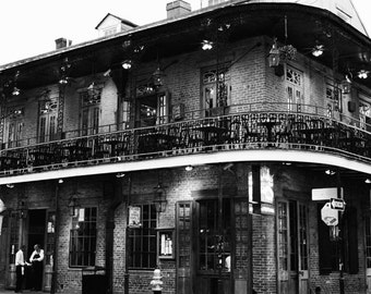 New Orleans Photo - Fine Art Photography, Bourbon Street, French Quarter, Big Easy, travel photo, print, wall art, home decor, photograph