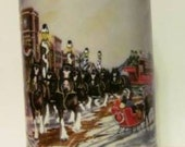 """VALENTINESALE Beer Stein Collector's Series """"A Perfect Christmas"""" from Anheuser-Busch, Inc."""
