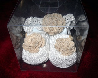Gift Add On-- Clear Gift Box For Booties or Sets -- Gift accent DOES NOT include Booties