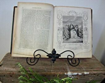 The Genuine Works of Flavius Josephus Hardcover 1700's Spiritual Guidance Home Decor
