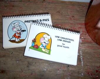 Home Starter Kit Vintage Five Small Cookbooks Instant Collection