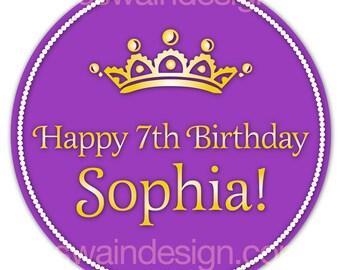 Sophia Princess Party Sign - Printable