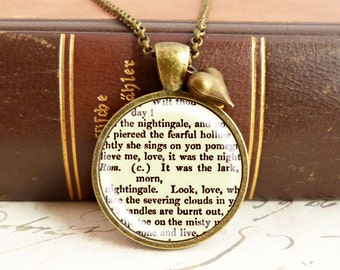 Romeo and Juliet - Literature Necklace