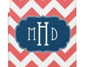 Personalized iPad Hard Shell Cases with Monogram- iPad mini, iPad 2, New iPad, iPad 4
