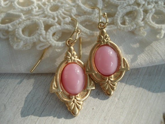 pink moonstone jewelry vintage - photo #6