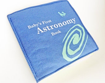 Baby Cloth Book - Astronomy