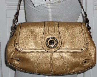 Gold Purse Handbag Vintage Bag Genna DeRossi