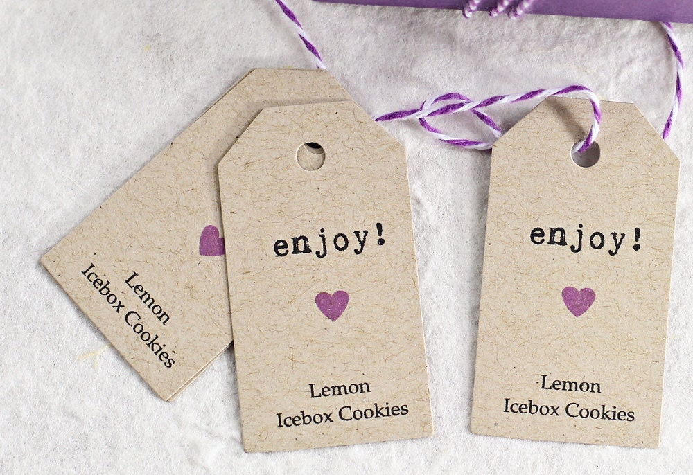 Enjoy Wedding Favor Tags Personalized Gift Tags Thank by iDoTags