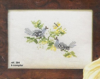 Princesse Cross Stitch Kit  384  Little  Birds
