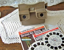 Vintage View Master GAF Picture Reels Retro Viewer 3D Viewing Family Fun Family Entertainment Vintage 1970s